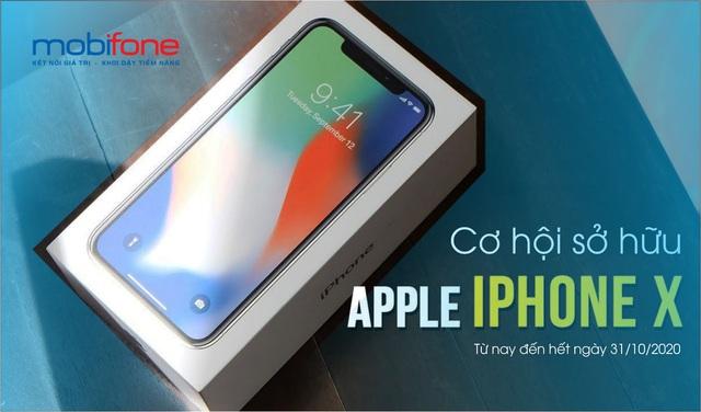 Cơ hội sở hữu iPhoneX chỉ với 90k cùng MobiFone - Ảnh 1.