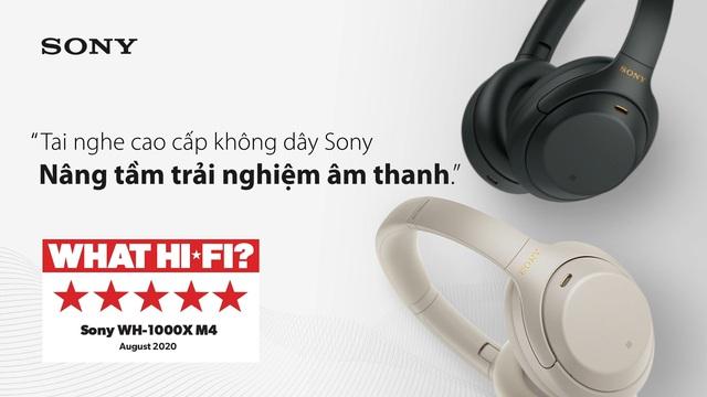 28 năm phát triển công nghệ chống ồn và khẳng định vị thế dẫn đầu của thiết bị tai nghe Sony - Ảnh 2.