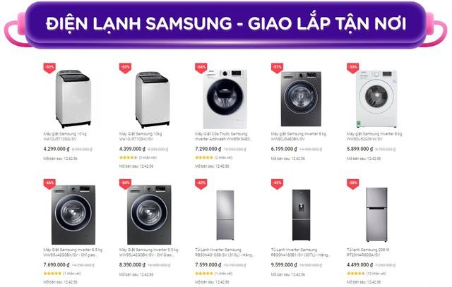 Mua sản phẩm Samsung trên Tiki được cả giá ưu đãi đến 50% và miễn phí lắp đặt theo lịch hẹn chỉ từ 8 - 10.9 - Ảnh 1.