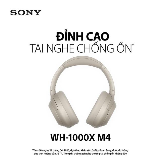 28 năm phát triển công nghệ chống ồn và khẳng định vị thế dẫn đầu của thiết bị tai nghe Sony - Ảnh 3.