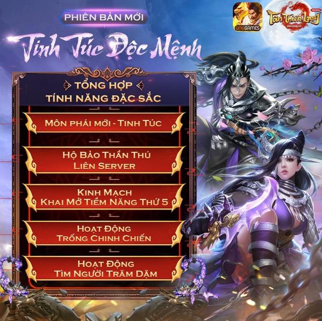 Tân Thiên Long Mobile tung chuỗi sự kiện hoành tráng trước thềm Big Update phiên bản mới Tinh Túc Độc Mệnh - Ảnh 2.