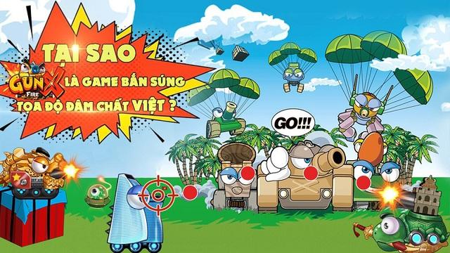 Kiếm tìm lí do GunX: Fire tự tin là game bắn súng tọa độ đậm chất Việt! - Ảnh 1.