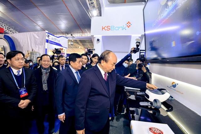 Dấu ấn của Sunshine Group tại Triển lãm quốc tế Đổi mới sáng tạo Việt Nam 2021 - Ảnh 1.
