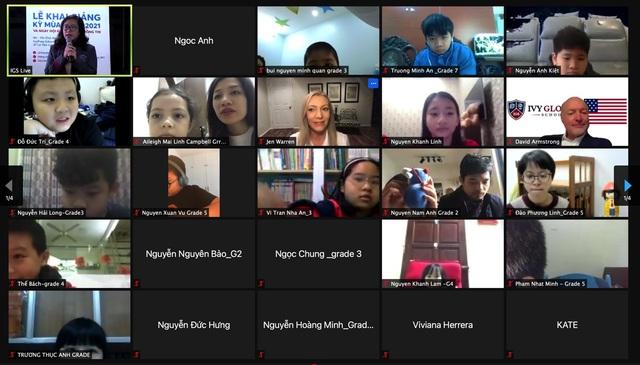 Phổ thông trực tuyến Mỹ Ivy Global School khai giảng năm học 2021 tại Việt Nam - Ảnh 1.
