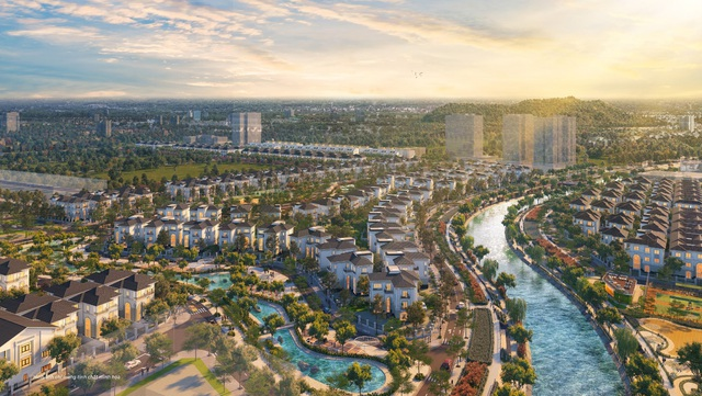 Biệt thự đảo khu đô thị Vinh Heritage: Lựa chọn của cư dân ưu tú thành Vinh - Ảnh 1.