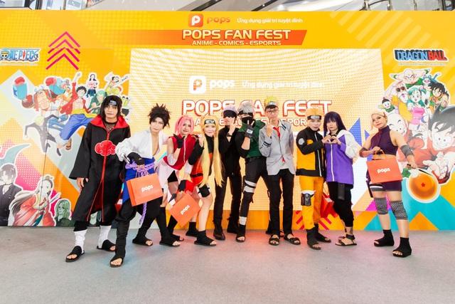 """POPS Fan Fest đãi fan anime, truyện tranh, eSports sân chơi """"chất như nước cất"""", quà cáp rợp trời - Ảnh 1."""