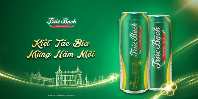 Bia Trúc Bạch – Kiệt tác bia mừng năm mới! - Ảnh 1.