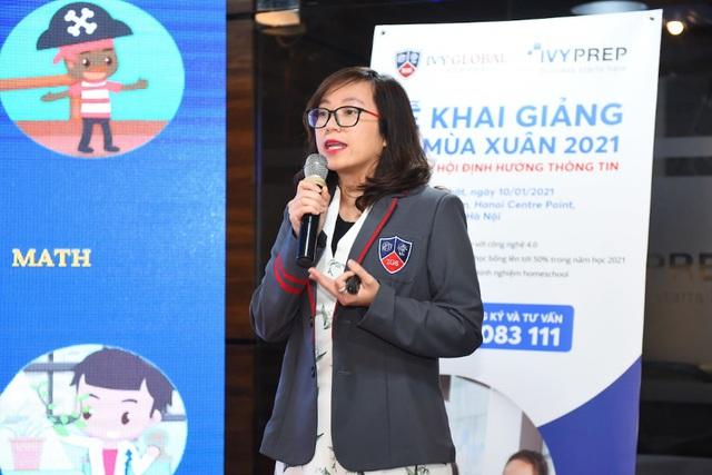 Phổ thông trực tuyến Mỹ Ivy Global School khai giảng năm học 2021 tại Việt Nam - Ảnh 2.