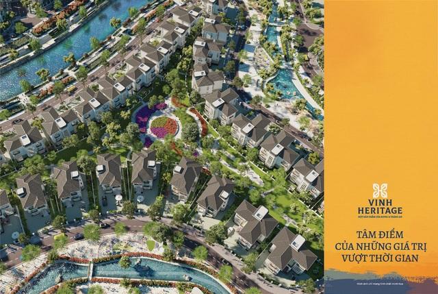 Biệt thự đảo khu đô thị Vinh Heritage: Lựa chọn của cư dân ưu tú thành Vinh - Ảnh 2.