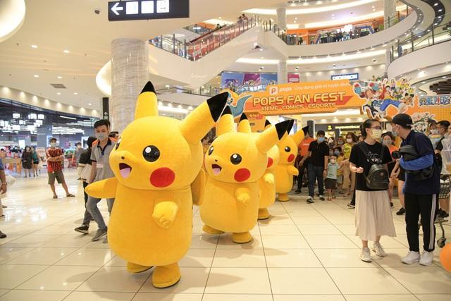 """POPS Fan Fest đãi fan anime, truyện tranh, eSports sân chơi """"chất như nước cất"""", quà cáp rợp trời - Ảnh 3."""