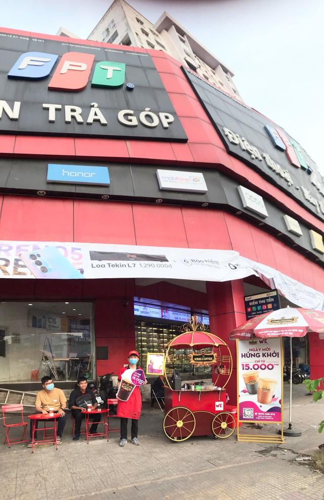 King Coffee hợp tác với FPT Shop để mở rộng chuỗi WEHome Café - Ảnh 1.