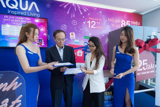 AQUA Việt Nam tổ chức chương trình tri ân khách hàng lên tới 12 tỷ đồng - Ảnh 2.