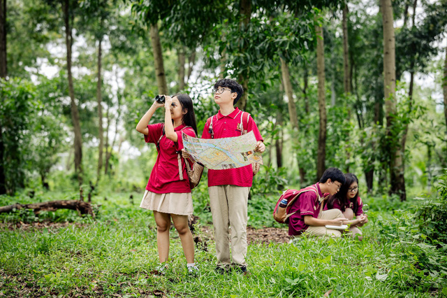 Trường học Xanh - Câu chuyện từ bục giảng đến những rừng cây - ảnh 1
