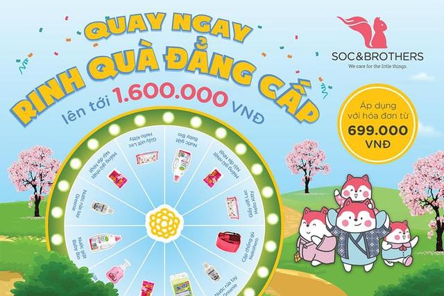Soc&Brothers khai trương cửa hàng mới ở Hà Đông: Các mẹ khỏi lo shopping xa, kèm ưu đãi bao la đồ cho bé chỉ từ 19k - Ảnh 4.