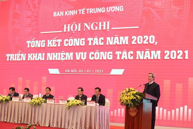 Ban kinh tế Trung ương: Tổng kết công tác năm 2020 và triển khai nhiệm vụ mới - Ảnh 1.