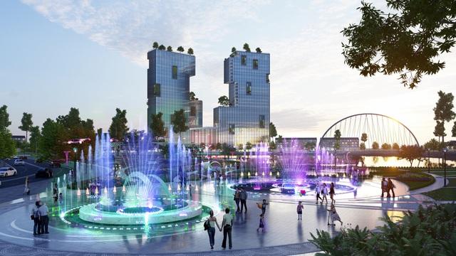 Ecopark triển khai phố đi bộ shopping và giải trí dài 2km tại Hải Dương - Ảnh 6.
