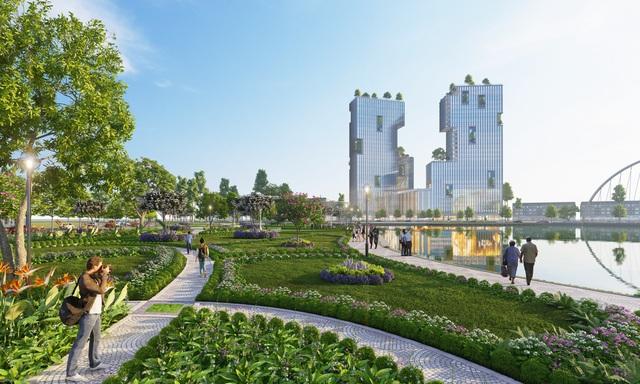 Ecopark triển khai phố đi bộ shopping và giải trí dài 2km tại Hải Dương - Ảnh 7.
