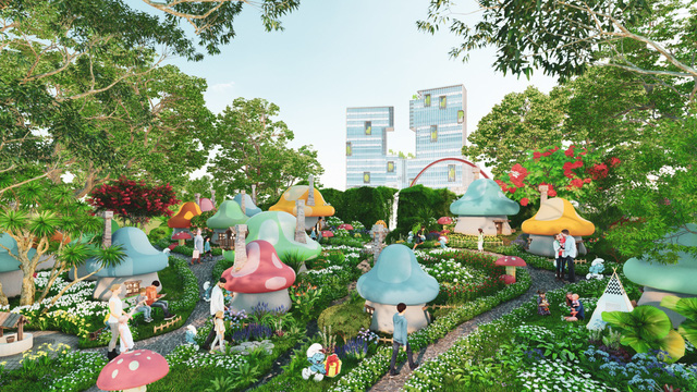 Ecopark triển khai phố đi bộ shopping và giải trí dài 2km tại Hải Dương - Ảnh 9.