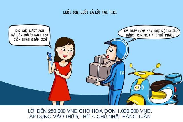 Lướt JCB, lướt là lời - tiêu chí chi tiêu của chủ thẻ JCB - ảnh 2