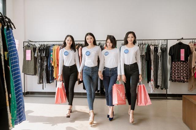 """Dàn chân dài Hoa khôi Sinh viên Việt Nam """"đổ bộ"""" showroom Eva de Eva: Toàn nhan sắc """"cực phẩm!"""" - ảnh 1"""