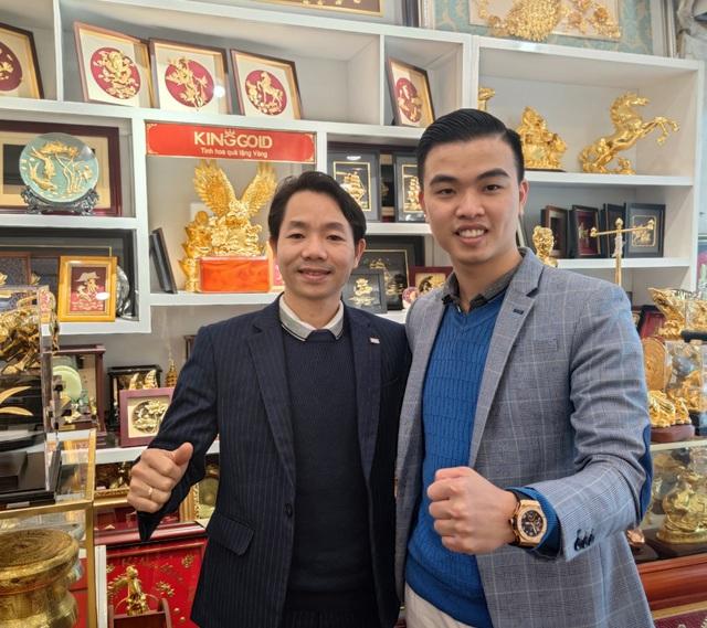 CEO Đinh Lâm Tới – Từ cậu bé nghèo đến Founder chuỗi showroom đồ đồng mạ vàng King Gold Art - Ảnh 1.