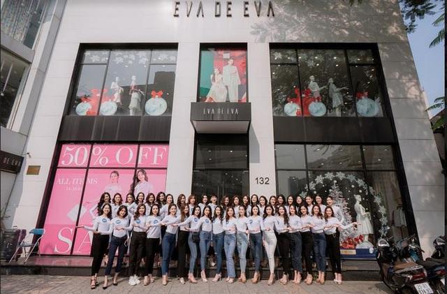 """Dàn chân dài Hoa khôi Sinh viên Việt Nam """"đổ bộ"""" showroom Eva de Eva: Toàn nhan sắc """"cực phẩm!"""" - ảnh 3"""