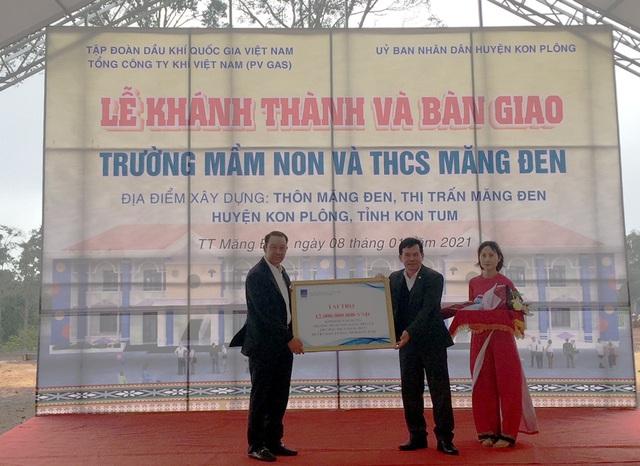 PV GAS tài trợ 12 tỷ đồng xây dựng trường học Kon Tum| - Ảnh 1.