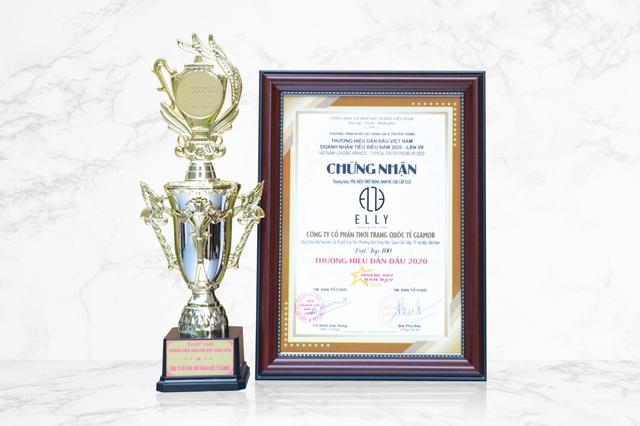 ELLY được vinh danh trong Top 100 thương hiệu dẫn đầu Việt Nam 2020 - Ảnh 1.