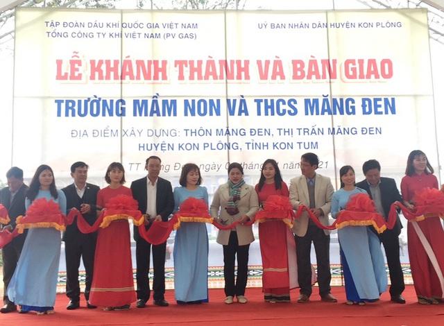 PV GAS tài trợ 12 tỷ đồng xây dựng trường học Kon Tum| - Ảnh 2.
