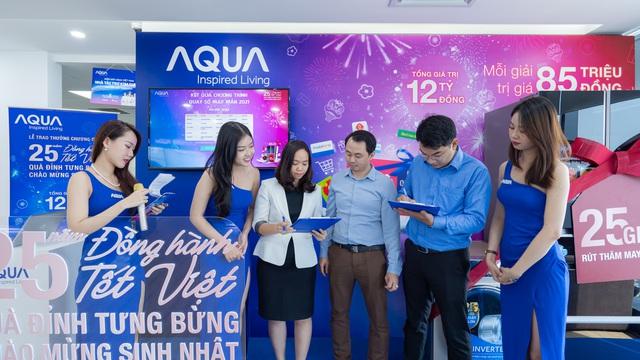 AQUA Việt Nam tri ân khách hàng lên đến 12 tỷ - Ảnh 1.
