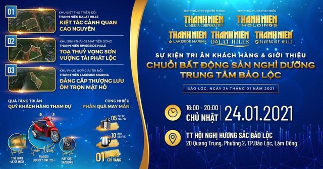 Chuỗi nghỉ dưỡng sinh thái của Thanh Niên Holdings thu hút mạnh giới đầu tư - Ảnh 1.