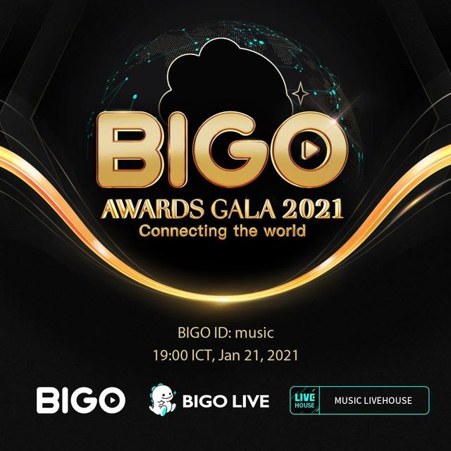 """""""Bigo Gala 2021 - Nơi vinh danh hàng chục thần tượng mới trên khắp thế giới - ảnh 1"""