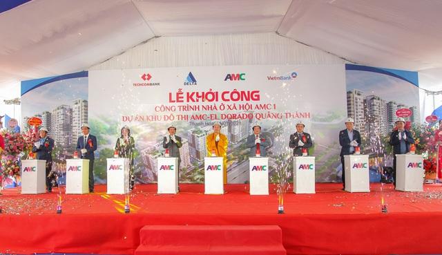 DELTA Group khởi công Khu nhà ở xã hội AMC I, Thanh Hóa - Ảnh 1.