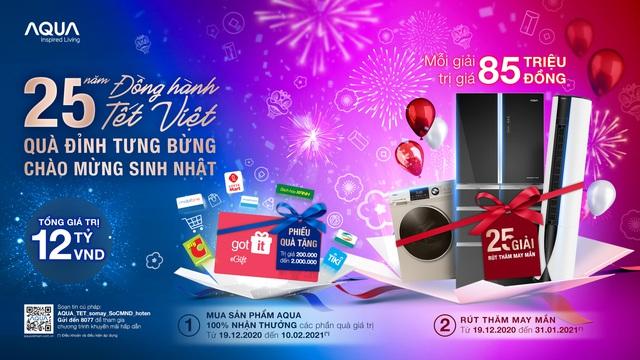 AQUA Việt Nam tri ân khách hàng lên đến 12 tỷ - Ảnh 2.
