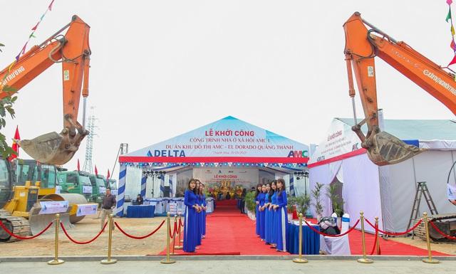 DELTA Group khởi công Khu nhà ở xã hội AMC I, Thanh Hóa - Ảnh 2.