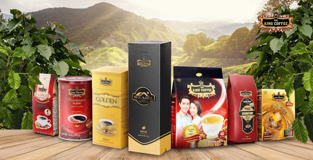 King Coffee đạt giải thưởng Top 20 Sản phẩm vàng, Dịch vụ vàng Việt Nam năm 2020 - Ảnh 2.