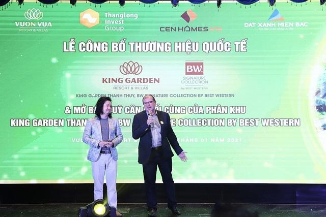 Vườn vua Resort & Villas công bố và mở bán phân khu thương hiệu quốc tế - Ảnh 1.