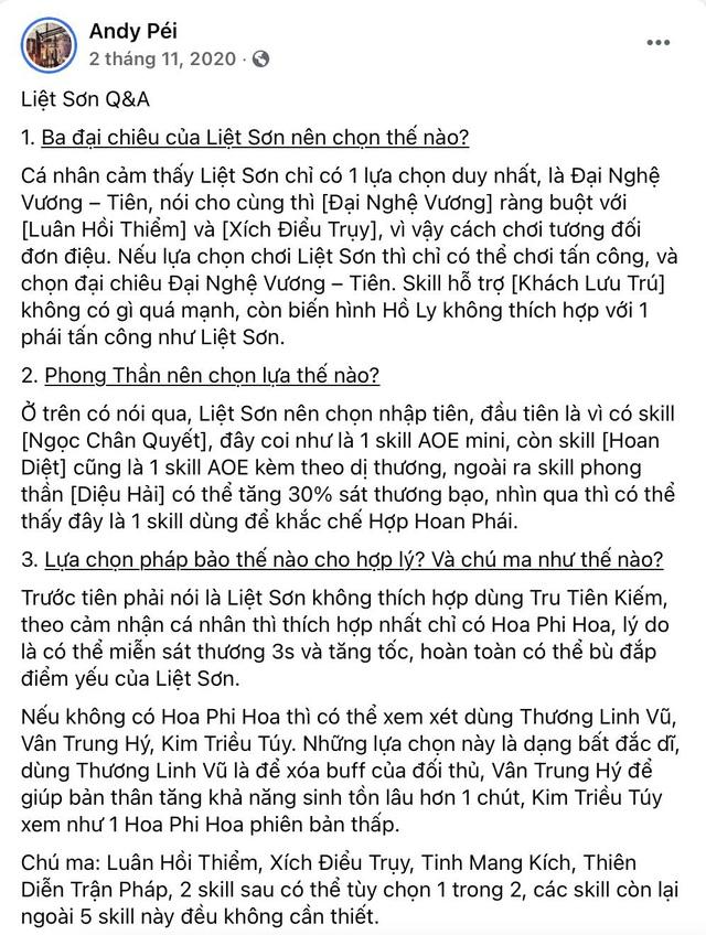 """Lộ info phái mới Liệt Sơn - """"Sát thủ thầm lặng"""" đang được cộng đồng Tru Tiên 3D hết sức chờ đón - Ảnh 5."""