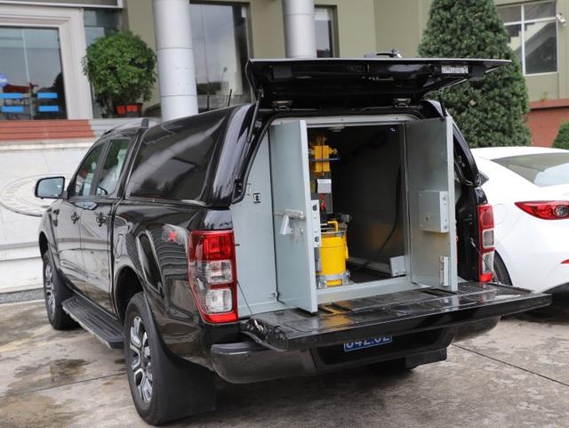 NIAD tiên phong cung cấp xe chở bình chứa phóng xạ - Ảnh 3.