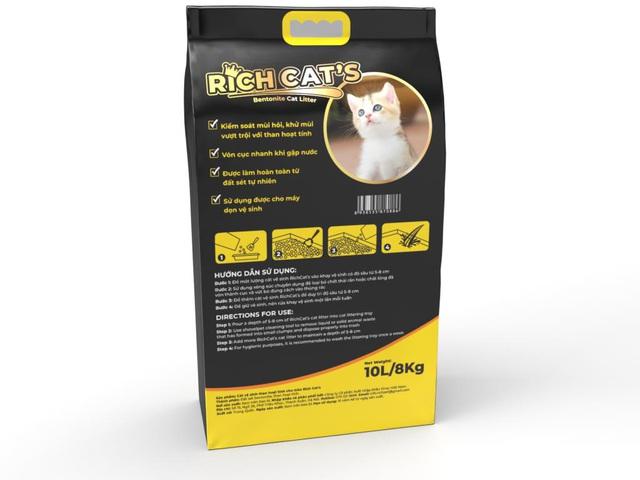 Cạnh tranh thị trường cát vệ sinh cho mèo: Ngàn tính năng, trăm sản phẩm - Ảnh 2.