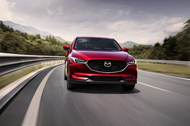 Bộ đôi SUV Mazda CX-5 và Mazda CX-8 về đích ấn tượng - Ảnh 1.