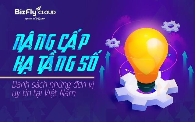 Nâng cấp hạ tầng số - Danh sách những đơn vị uy tín tại Việt Nam - Ảnh 1.