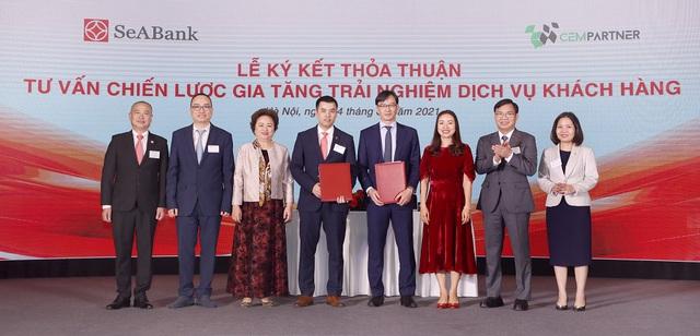 SeABank ký kết hợp tác với 4 đối tác chiến lược hướng tới phát triển bền vững - Ảnh 1.