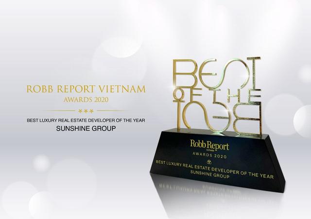 Sunshine Group – Nhà phát triển BĐS hạng sang tiêu biểu nhất năm 2020 - Ảnh 2.