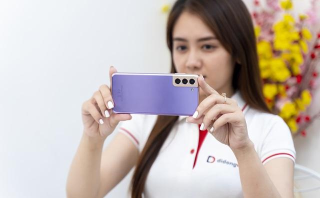 Samsung Galaxy S21 Plus, S21 Ultra 5G lần đầu giảm sâu đến 6 triệu đồng dịp cuối năm - Ảnh 1.