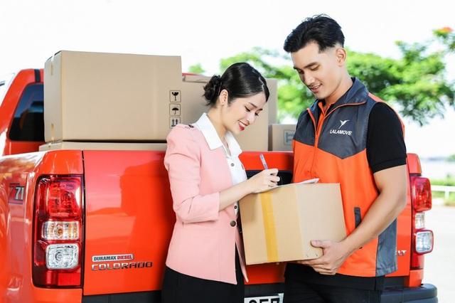 Dịch vụ giao hàng nội thành bằng xe tải của Lalamove được ưa chuộng - Ảnh 5.