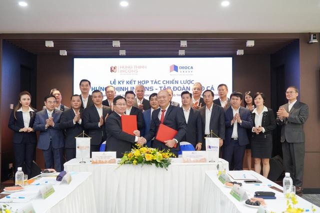 Tập đoàn Hưng Thịnh và Hưng Thịnh Incons ký kết hợp tác chiến lược cùng tập đoàn Đèo Cả - Ảnh 1.