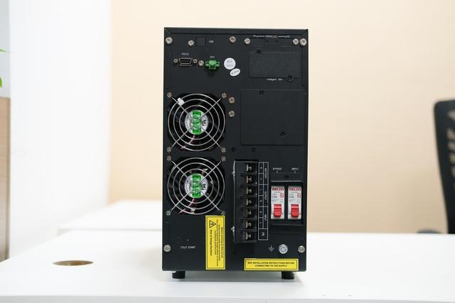 Trải nghiệm dòng sản phẩm UPS online HT11: Bộ lưu điện nhỏ gọn với hiệu suất hoạt động ấn tượng - Ảnh 5.
