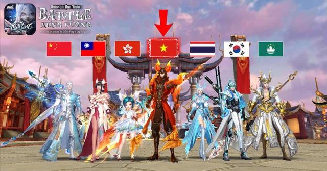 Trước khi phát hành tại Việt Nam, Thần Vương Nhất Thế đã từng được ưa chuộng tại rất nhiều thị trường game tại Châu Á