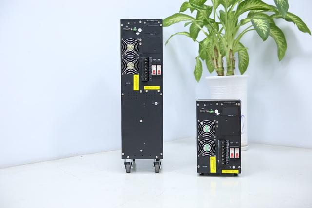 Trải nghiệm dòng sản phẩm UPS online HT11: Bộ lưu điện nhỏ gọn với hiệu suất hoạt động ấn tượng - Ảnh 2.